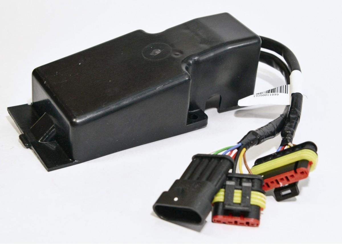 Блок управления (дизель 12 В) с датчиками температуры в Al корпусе